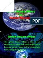 Green House Effect and Global Warming