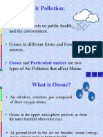 Lec # 52 Ozone and Fine Particles Effect and Formation