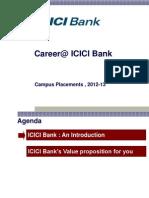 Campusppt Icici Bank