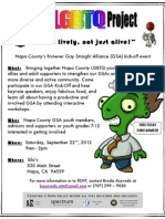 1st Napa Countywide GSA Conference - Saturday, September 22