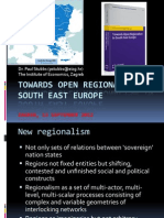 Stubbs Towards OPen Regionalism in South East Europe - power point