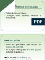 Morfologia Palavras Variveis e Invariveisv2 1231752031545433 1