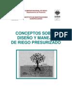 Conceptos de diseño y manejo de riego presurizado 1