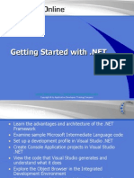 Getting Started With .NET