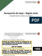 Aeropuerto de Jauja - Junín