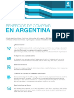 Beneficios de comprar en Argentina