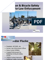 Pedestrian & Bicycle Safety Training for Law Enforcement_