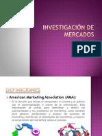 Investigación de Mercados 1