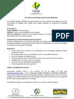 SELEÇÃO DE ESTAGIÁRIOS VOLUNTÁRIOS EDUCAÇÃO AMBIENTAL