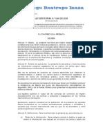 Ley 1266-08 _Habeas Data_[1]