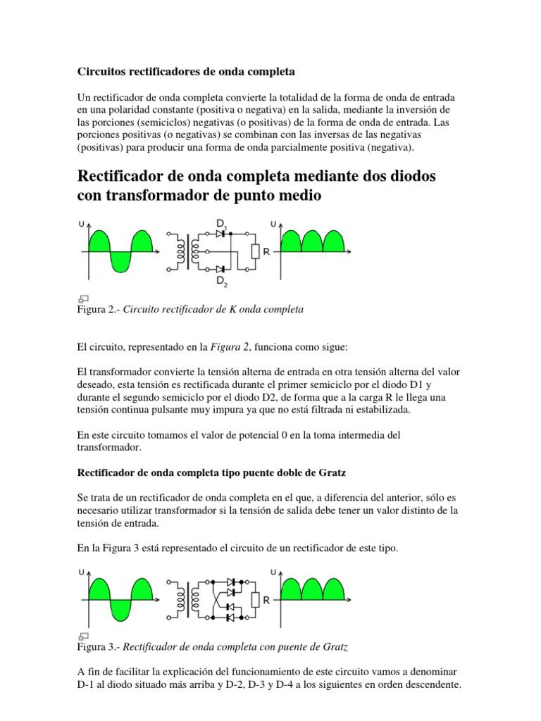 Circuito Onda : Creación y simulación de circuito rectificador de media onda en