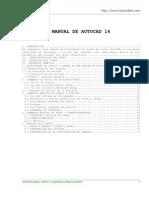 Manual Autocad 14 - Baltazar López Martínez