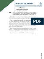 """Anuncio de la Autoridad Portuaria Bahía de Algeciras por el que se cumplimenta el trámite de competencias de proyectos correspondiente a la solicitud de la empresa """"La Línea City Port, S.L."""""""