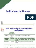INDICADORES DE GESTIÓN TCQ