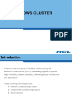 Module 33 Introduction Business Continuity with MSCS Cluster in Windows 2003