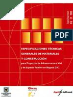 Especificaciones IDU ET 2005
