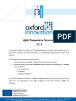 Oxford Innovation Agile Cornwall Survey Summary