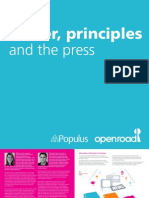Power Principles and the Press Open Road and Populus1