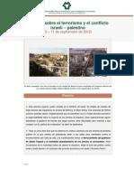 terrorismo y el conflicto   israelí – palestino