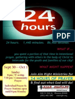 24 7 Prayer 2012 Flyer