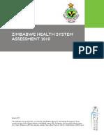 Zimbabwe Health System Assessment2010