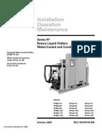 Trane - Chiller RTWA - IOM Manual