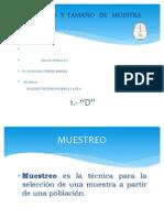 2MUESTREO Y TAMAÑO DE MUESTRA