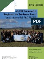 Informe III Encuentro Reg TR INTA CERBAS Pigue 2012
