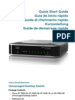 Switch Cisco SF100 08P