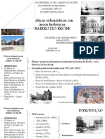 Práticas Urbanísticas no bairro do Recife