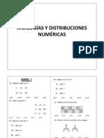 Analogias y Distribuciones Numericas
