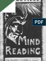 David Lustig - Vaud Mind Reading
