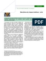 MARCONDES (2009) Manufatura - Corte