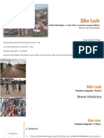 Análise Morfológica do bairro da Liberdade - São Luís-MA