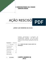 AÇÃO RESCISÓRIA I
