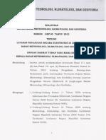 Kep 05 Tahun 2012 Tentang Layanan Pengadaan Secara Elektronik Di Lingkungan Bmkg