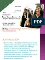 Trabajo y Exposición general Final del curso Tecnologia y trabajo