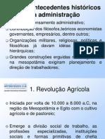 FUNDAMENTOS DE ADMINISTRAÇÃO AULA 01 - UNINORTE