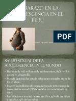 EMBARAZO EN LA ADOLESCENCIA EN EL PERÚ