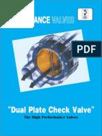 Dual Plate Check Valve
