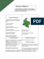 24 Recursos Hidricos en Colombia