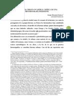 Smiranda Critica de La Historia Urbana en Mexico 2011