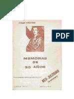 MEMORIAS DE 30 AÑOS