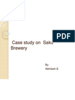 Case study on Saku Brewery