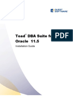 ToadforOracle 115 DBA Suite Installation Guide