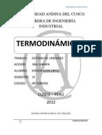 TRABAJO DE TERMODINÁMICA