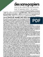 voix des sans-papiers n°9