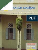 Risalah Madani Edisi September 2012