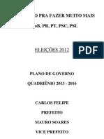 PLANO DE GOVERNO CARLOS FELIPE 65