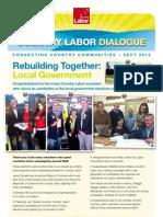 Country Labor Dialogue - September 2012